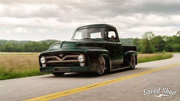 1953 Ford F-100 with a Boss 302 V8