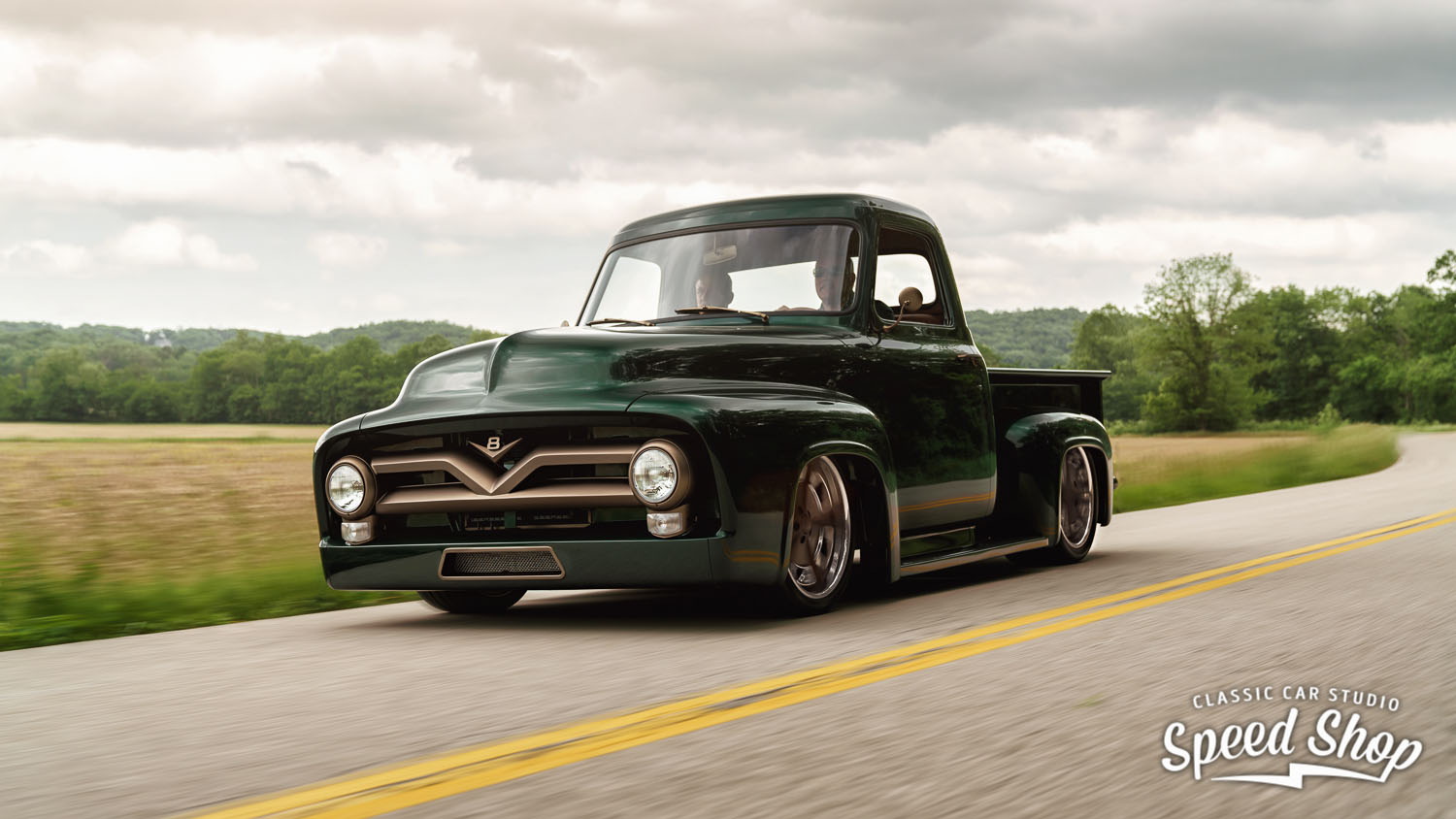 1953 Ford F-100 with a Boss 302 V8 – Engine Swap Depot