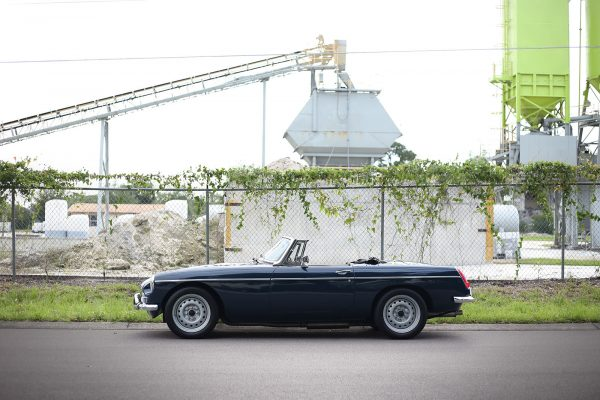 1979 MG MGB with a Zetec Inline-Four