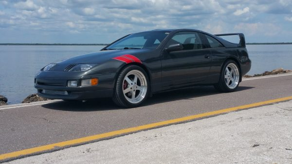 1990 Nissan 300ZX with a twin-turbo VG30DETT V6