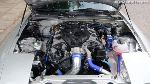 1991 Mazda MX-5 with a LFX V6