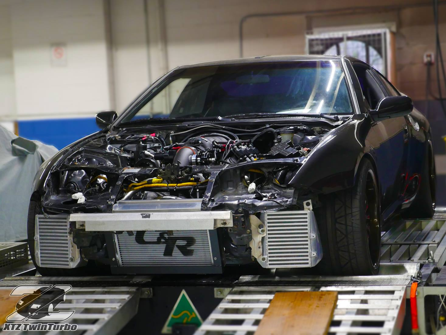 Nissan 300ZX with Twin-Turbo LS3 – Engine Swap Depot