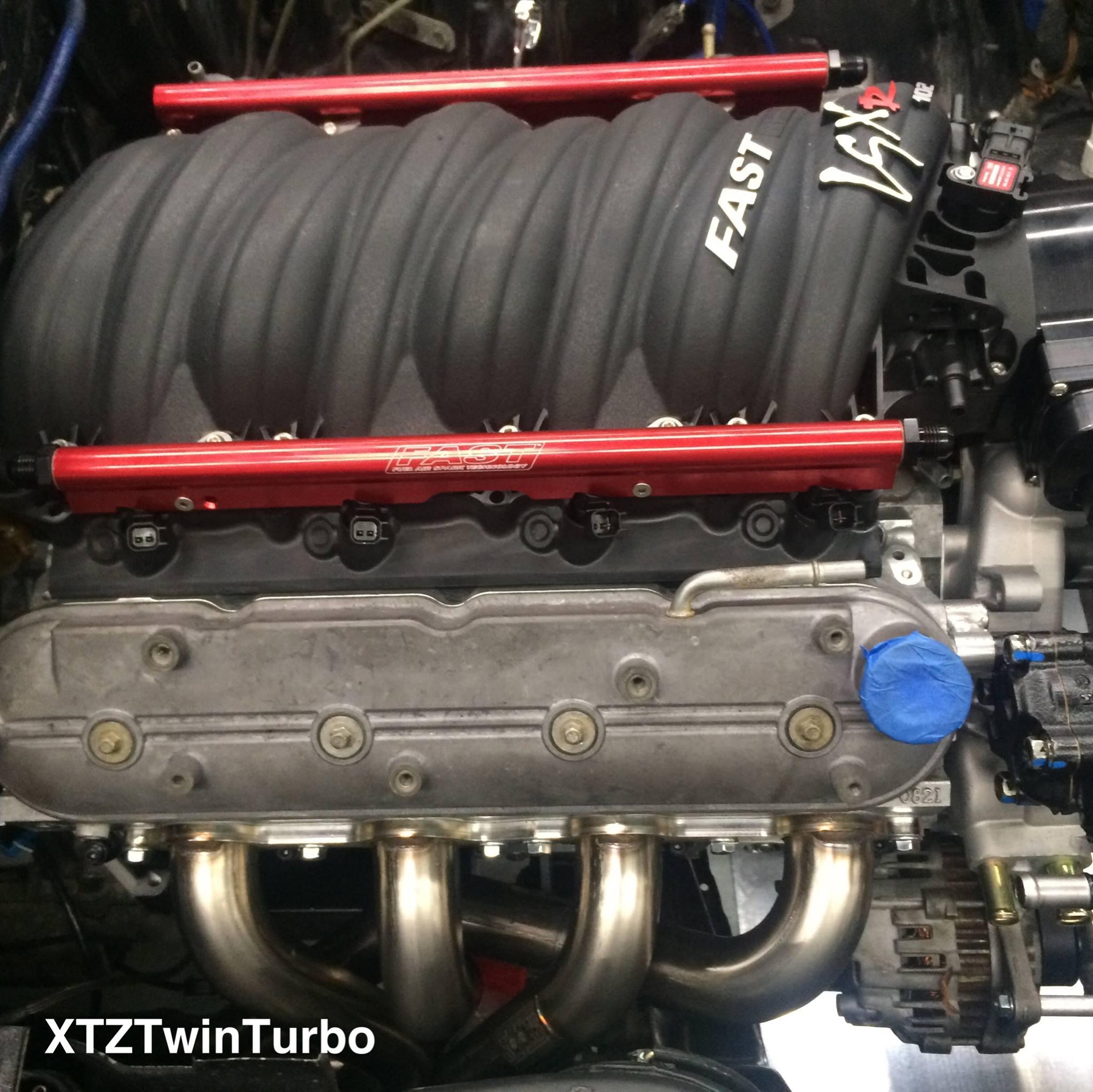 300zx Twin Turbo Motor: Nissan 300ZX With Twin-Turbo LS3