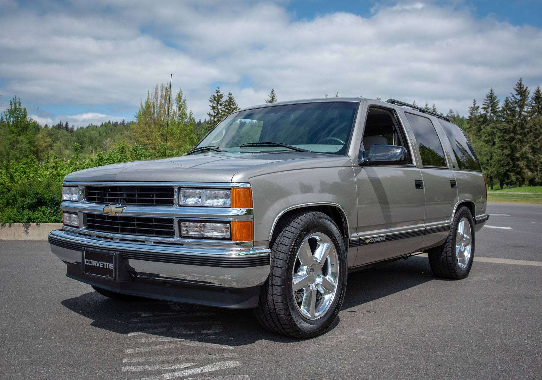 For Sale 1998 Tahoe 4wd With A Supercharged Ls9 V8 Engine Swap Depot Pontiac Trans Am Specs This Chevrolet Is Being Auctioned On Bring Trailer In Issaquah Washington Current Bid Of 21000 The Factory 57 L Vortec Was
