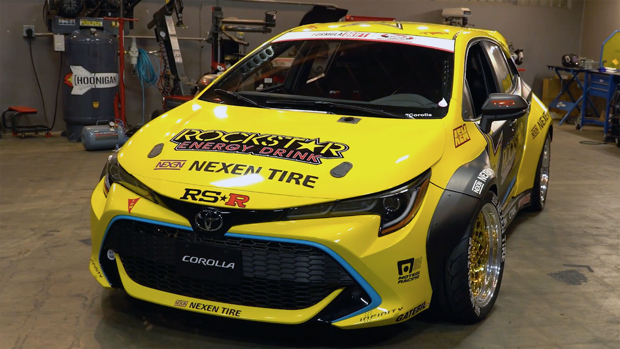 Papadakis Racing Needed Only A Few Months To Turn 2019 Toyota Corolla Hatchback Into Fredric Aasbø S New Formula Drift Race Car