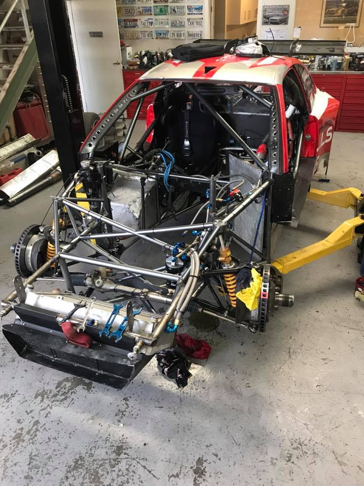 BMW Race Car with a Chevy Nascar SB2.2 V8 – Engine Swap Depot