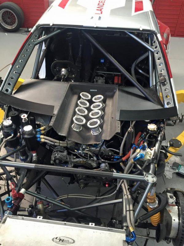 BMW E46 Race Car with a Chevy Nascar SB2.2 V8