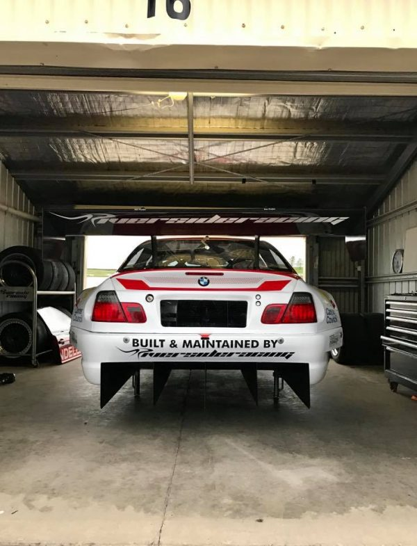 BMW E46 Race Car with a Chevy Nascar SB2.2 V8