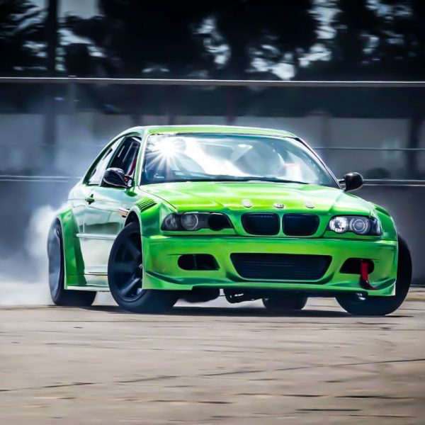 BMW E46 with a turbo 2JZ inline-six