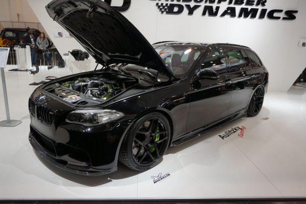 BMW F11 550i wagon with a twin-turbo S63 V8