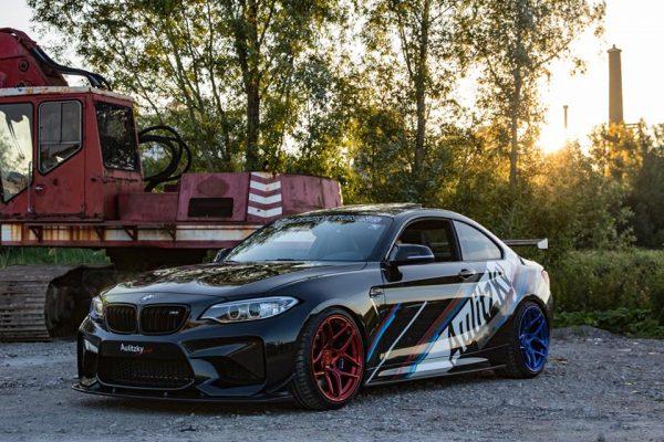 BMW M2 with a turbo S55 inline-six