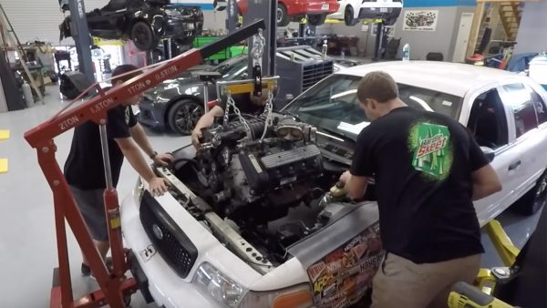 5.4 supercharged crown vic