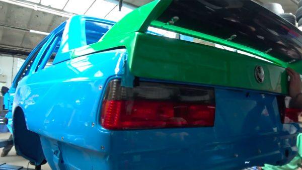 Driftworks BMW E30 with a S65 V8