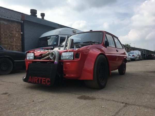 Ford Fiesta with a Turbo Zetec Inline-Four