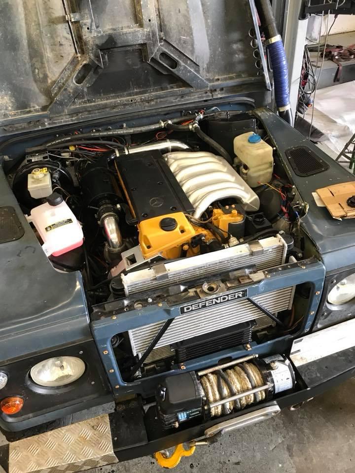 Mercedes  Engine Swap
