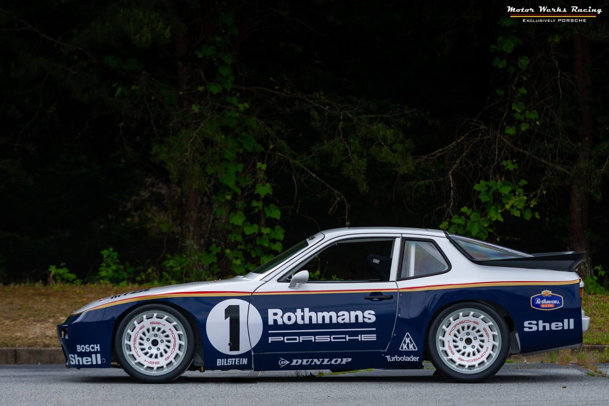 Porsche 924 with a turbo Audi 1.8 L inline-four