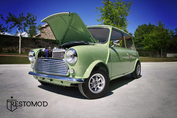Mini with a EcoBoost Turbo Inline-Three
