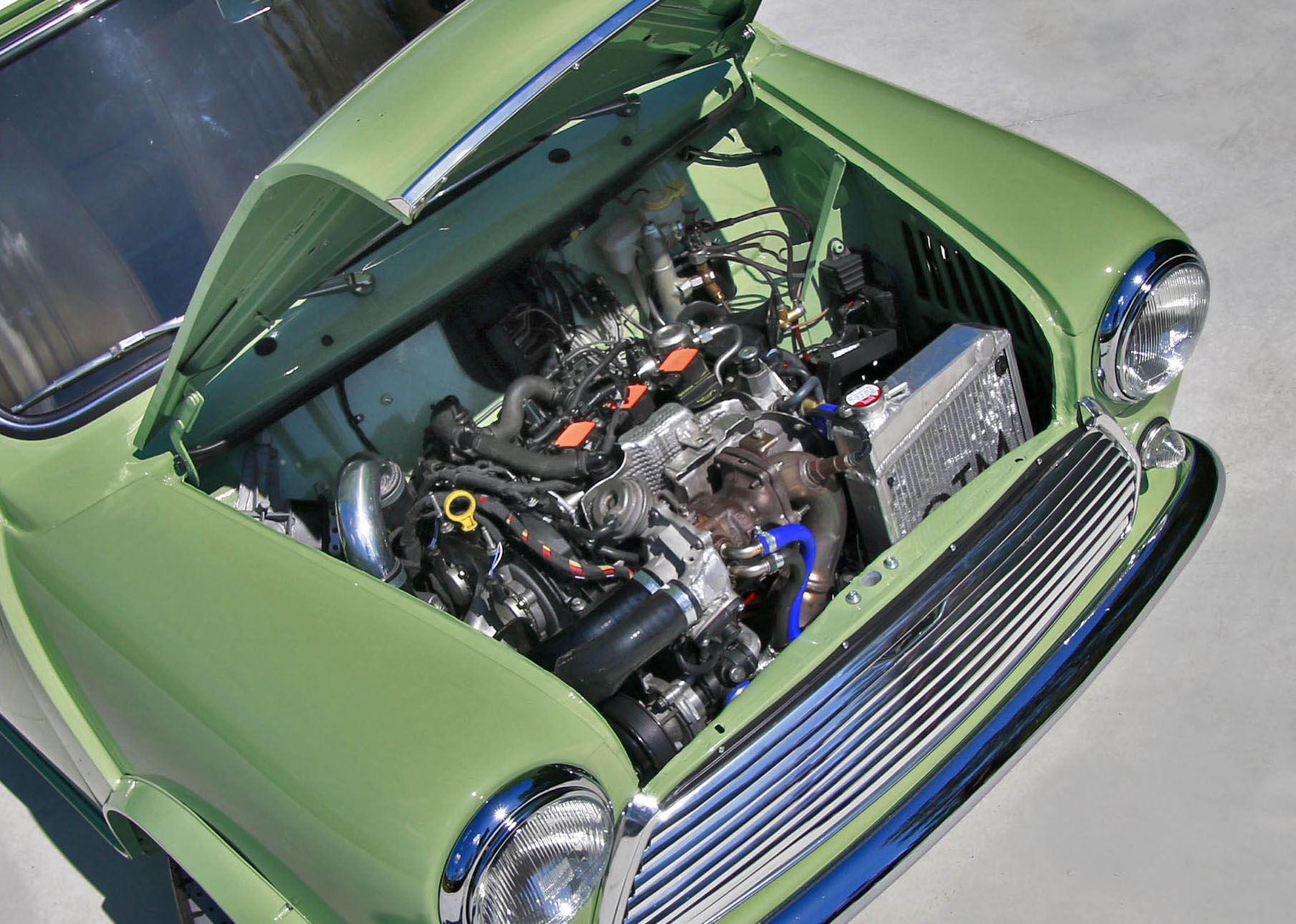 Mini with a Turbo 1 0 L EcoBoost Inline-Three – Engine Swap