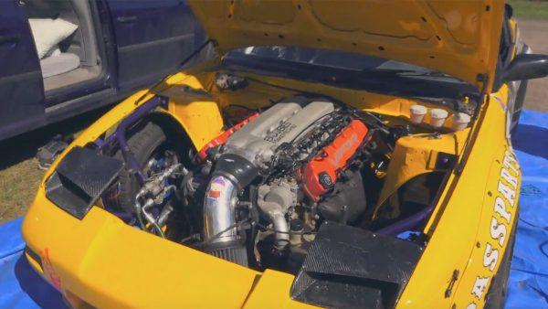 Nissan S13 with a SRT-10 V10