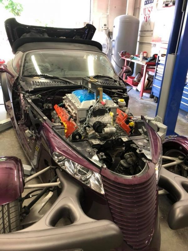 Plymouth Prowler with a Hellcat V8 – Engine Swap Depot