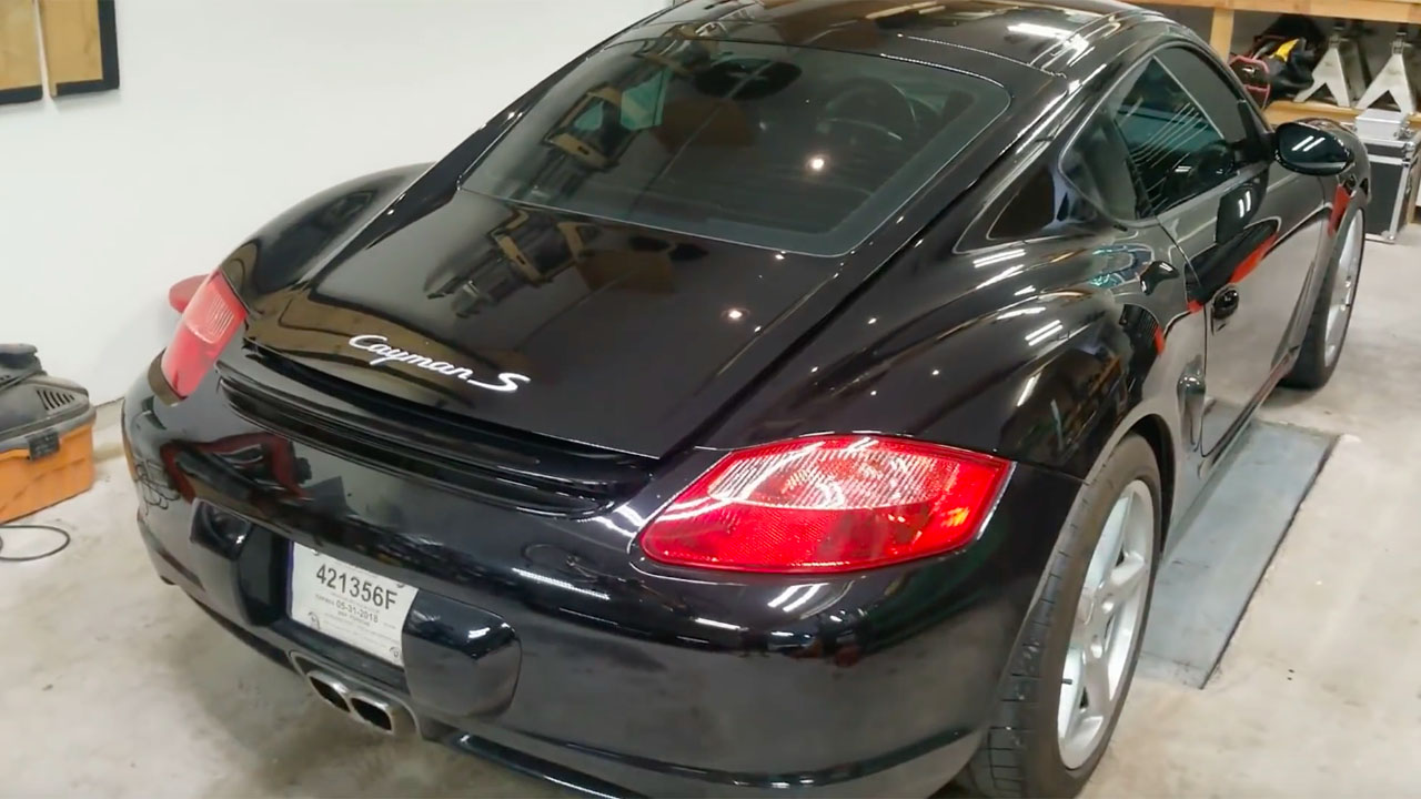 Porsche Cayman with a Twin-Turbo LS3 V8