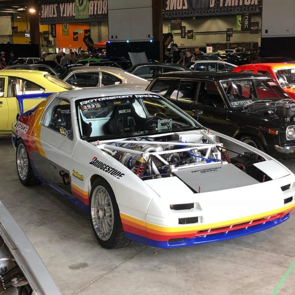 Rod Millen 4WD RX-7 with a Turbo 20B Triple-Rotor