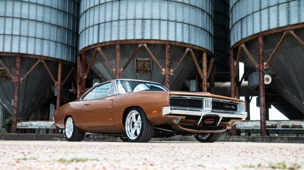 1969 Charger with a supercharged Hellcat V8