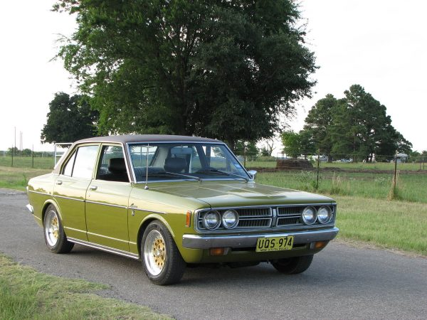 1973 Toyota Corona with a 3S-GE BEAMS Inline-Four