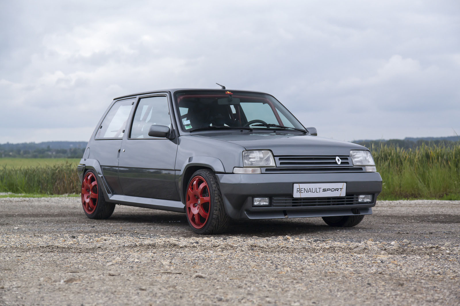 1987 Renault 5 GT Turbo with a 2.0 L 16v turbo inline-four