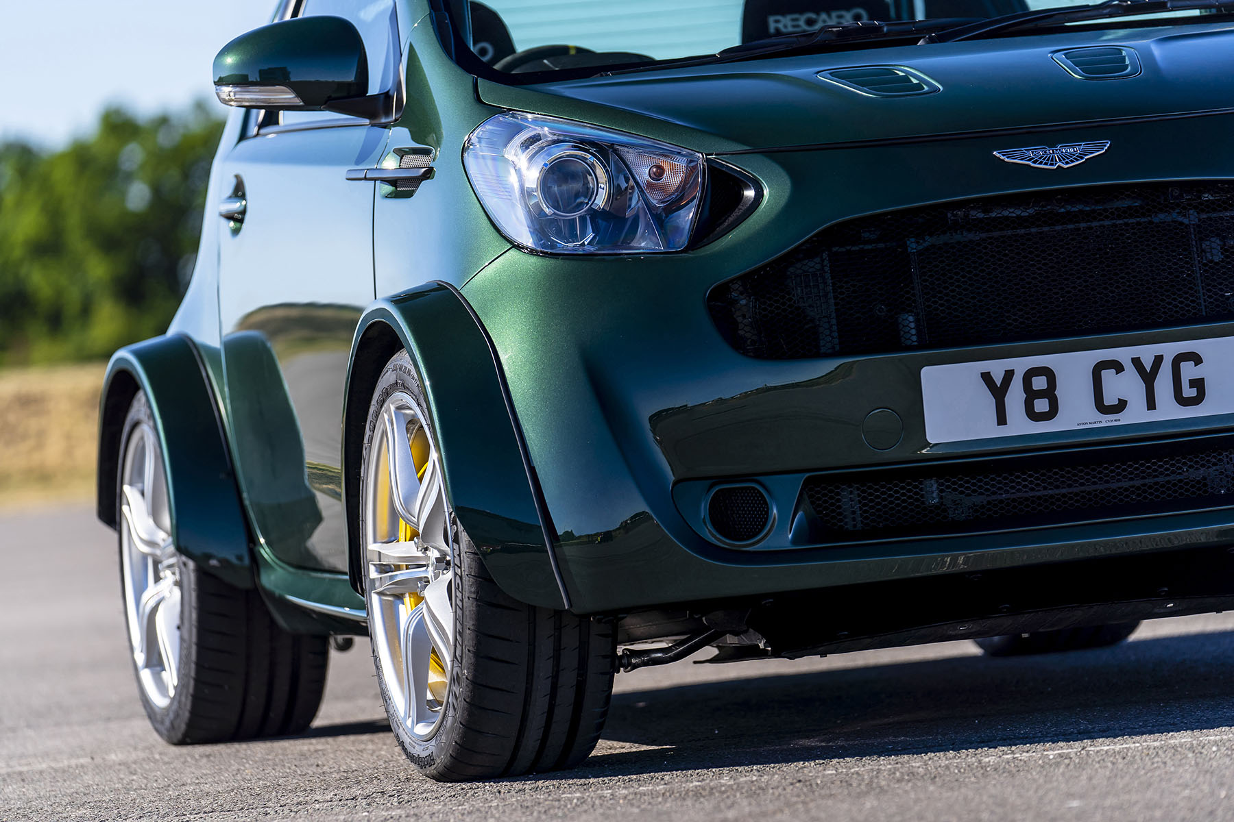 Aston Martin Cygnet With A Vantage S 4 7 L V8 Engine Swap Depot