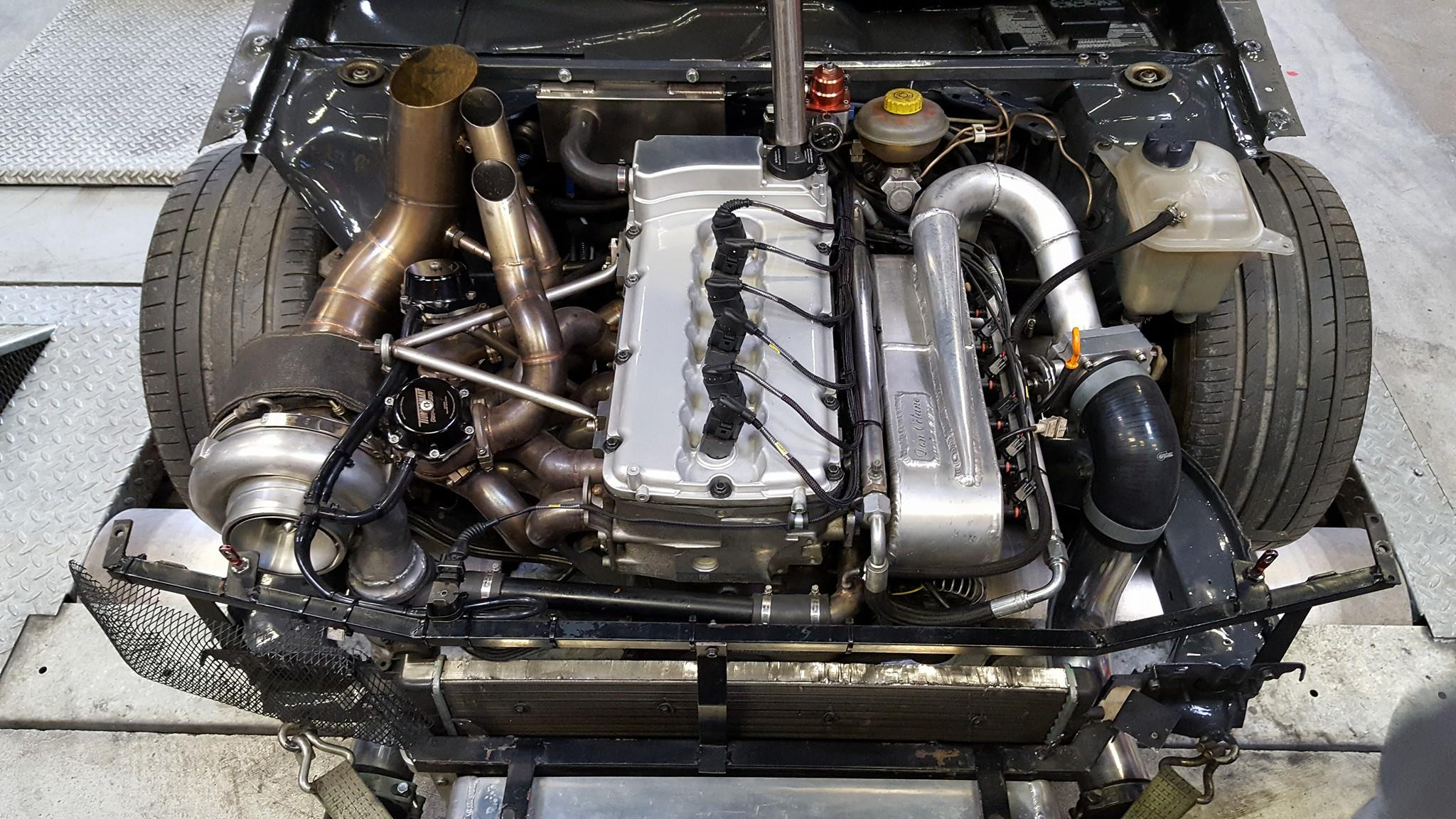 Audi S2 With A Turbo Vr6 Engine Swap Depot