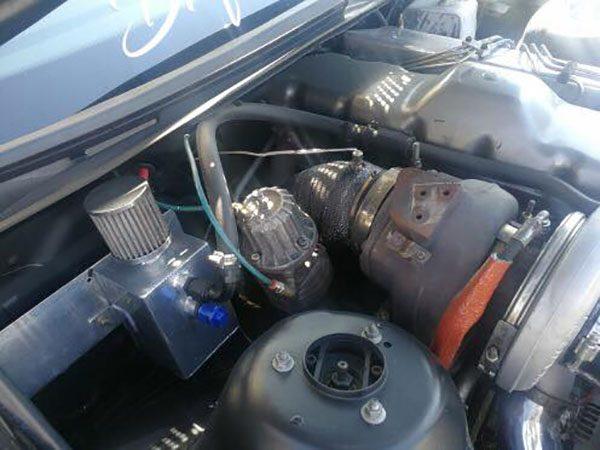 BMW E46 330d with a Yanmar 6LP-STE turbo diesel inline-six