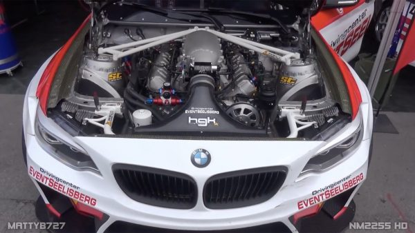 BMW F22 with a LS7 V8