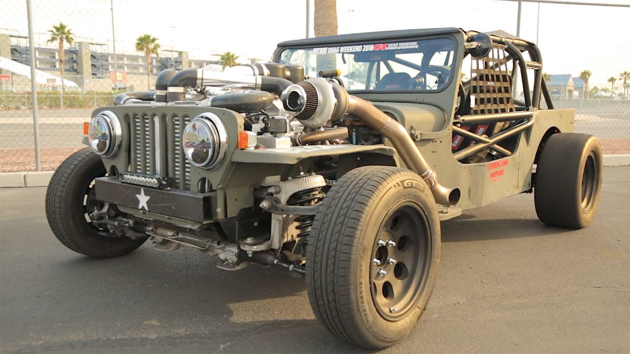 Willys Jeep With A Twin Turbo Lsx Running Propane Engine Swap Depot