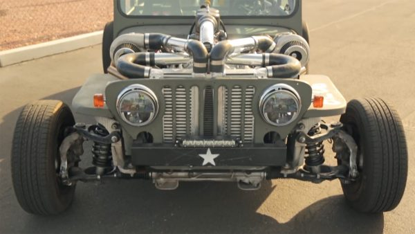 CW Willys Jeep with a Twin-Turbo LSx V8