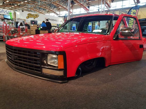Chevrolet Cheyenne with a Turbo Alfa Romeo Flat-Four