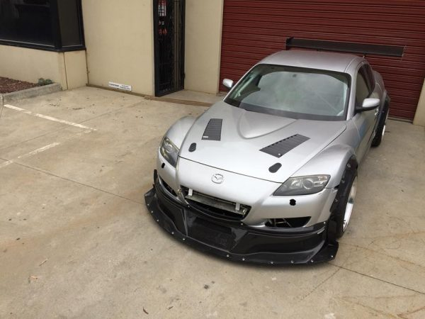 Mazda RX-8 with a 20B Triple-Rotor