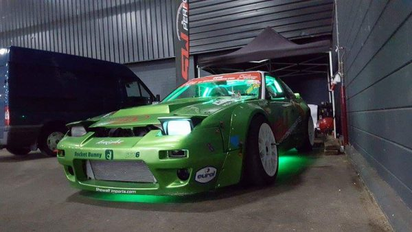 Nissan S13 with a RB25DET Inline-Six