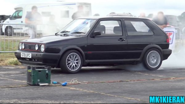 RWD Golf with a Twin-Turbo Audi V6