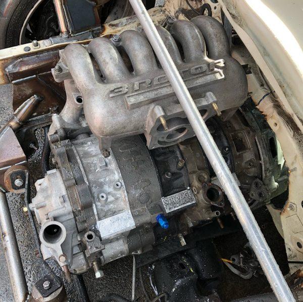RWD Mini Hatch with a 20B Triple-Rotor