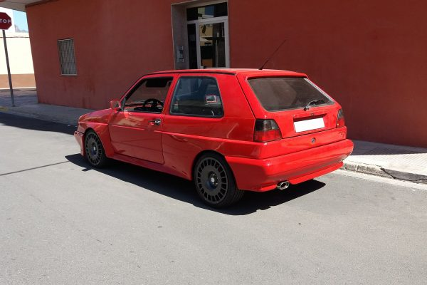 Rallye Golf with a Mk5 3.2 L VR6 and 4motion 4WD