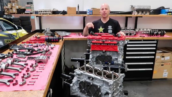 Stephan Papadakis turbo 2AR inline-four disassembly