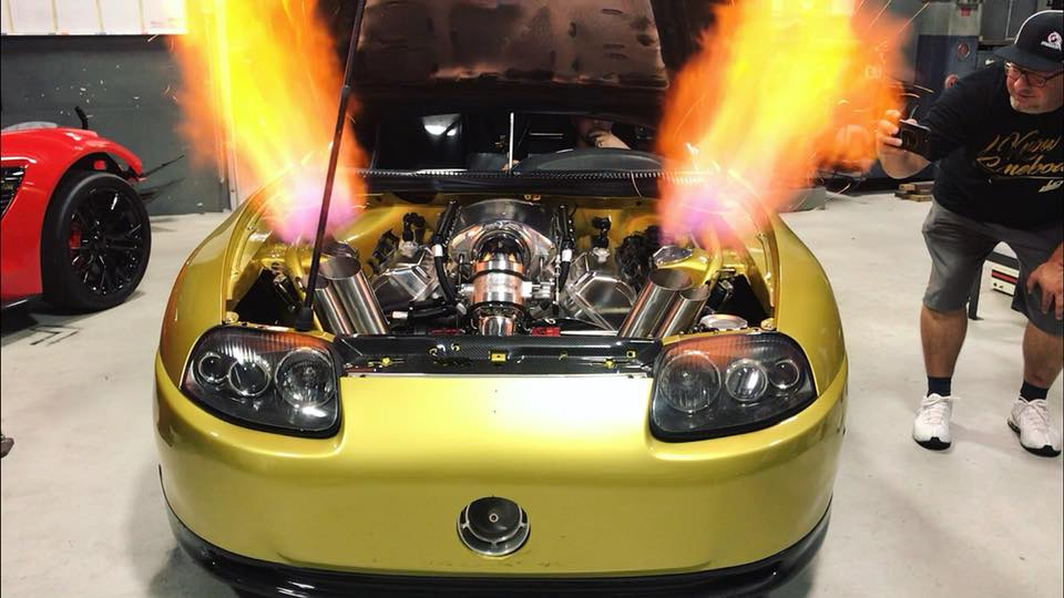 Supra with a Turbo Hemi V8 Update – Engine Swap Depot