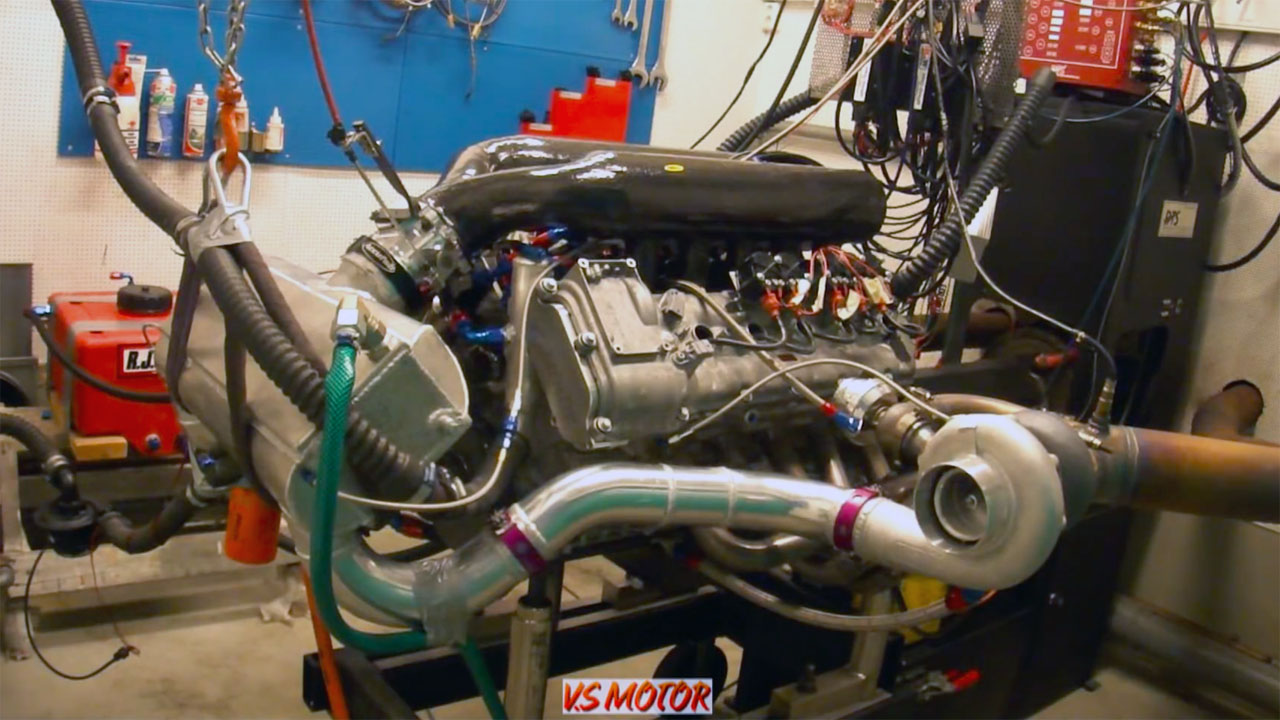 Twin-Turbo BMW S85 V10 Makes 1,851 hp on Dyno – Engine Swap