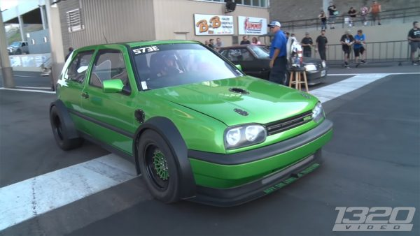 VW Golf with Two VR6 Engines