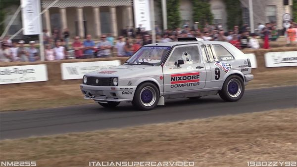 VW Pikes Peak Twin-Engine Golf