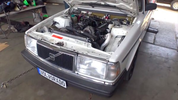 Volvo wagon with a turbo 6.0 L LSx V8