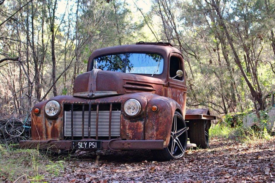 For Sale: 1942 Ford Rat Rod Truck with a Turbo Barra Inline-Six