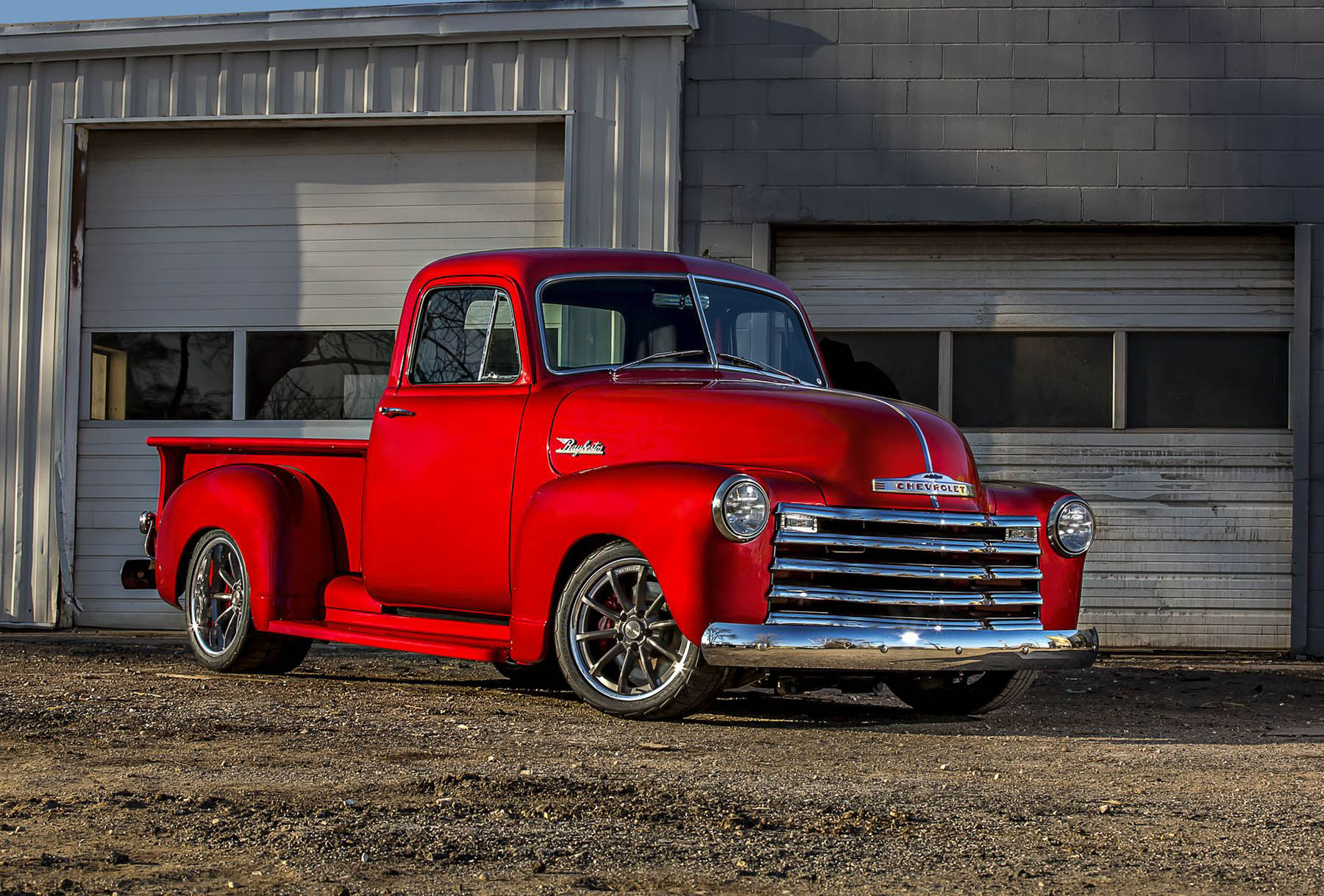 1953 Chevy 3600 Truck with a L83 V8