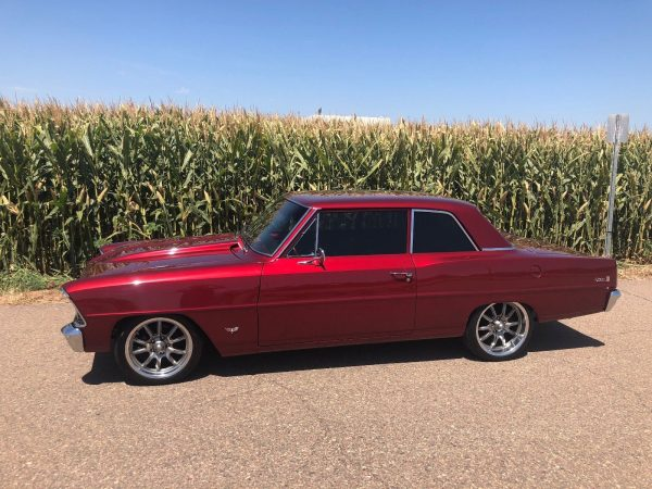 1967 Chevy Nova with a 5.3 L LSx V8